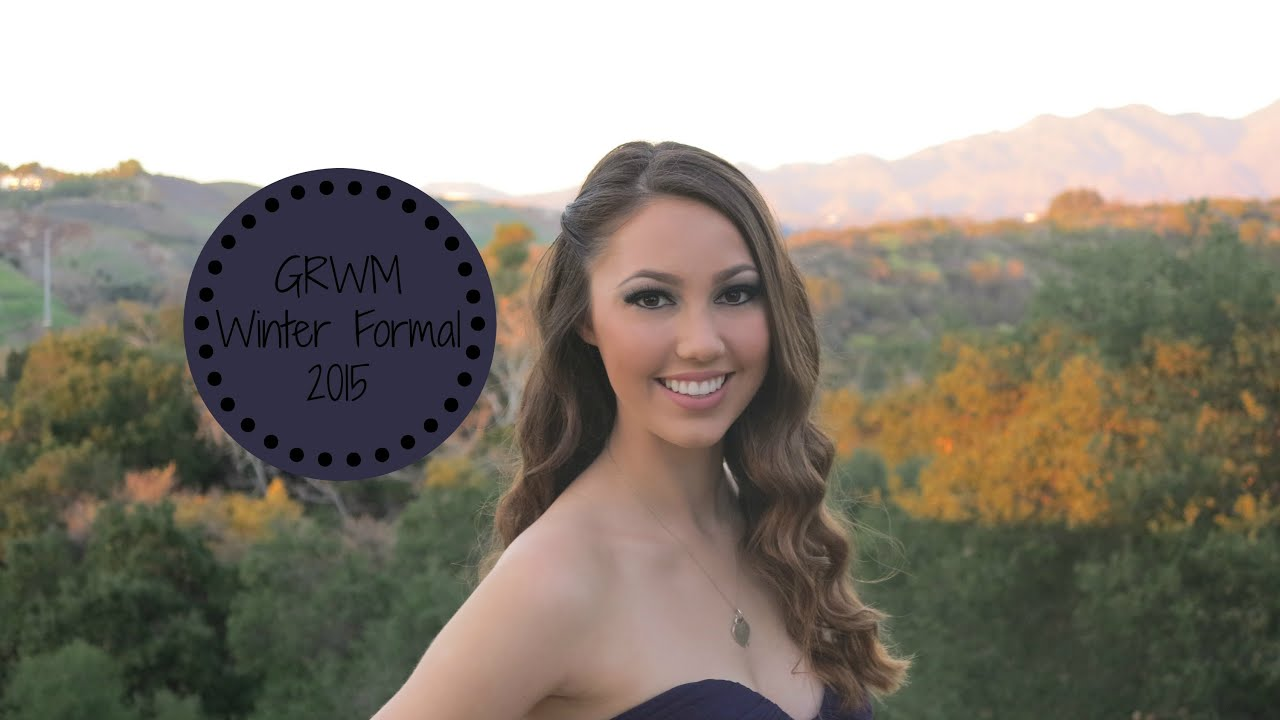 Get prom ready with me hair makeup dress - Get Ready With Me Winter Formal 2015 Hair Makeup Outfit Dress Tutorial Youtube