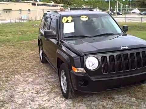 2009 Jeep Patriot 5 Speed Near Gainesville Ocala Lake City Fl