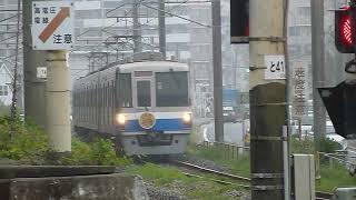 [警笛あり]福岡市営地下鉄1000系「福岡空港行き」今宿駅付近通過