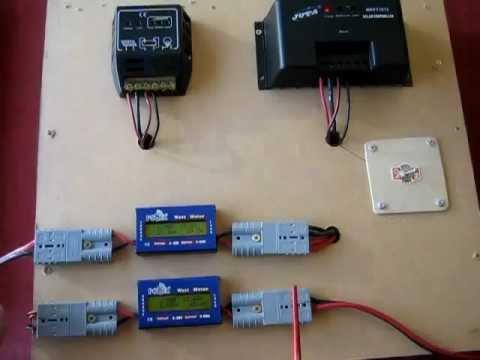Mppt Vs Pwm Solar Controllers Youtube