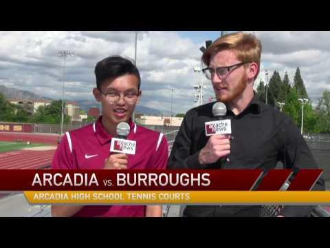 CIF-SS, Boys Tennis 2017: Burroughs @ Arcadia