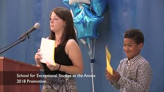 School for Exceptional Studies Annex Promotion 2018