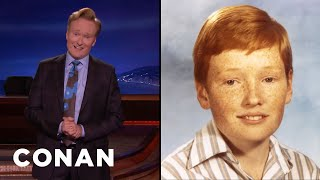 Conan On His #PuberMe Photo  - CONAN on TBS