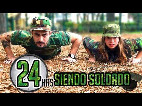 24 Horas Siendo Soldado con BERTH OH