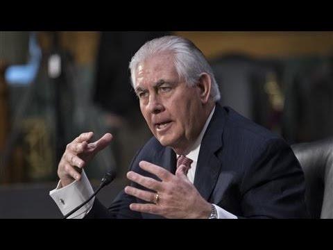 Senate Committee Backs Rex Tillerson's Nomination