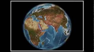 Эмуляция объемного изображения Земли