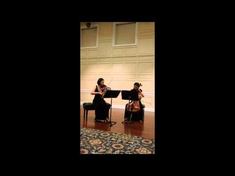 N. Paganini - duetti Concertanti for Vn und Vc, No.3