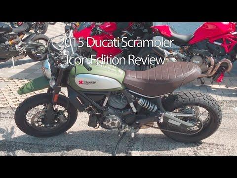 2015 Ducati Scrambler Uban Enduro Edition Motorcycle Review