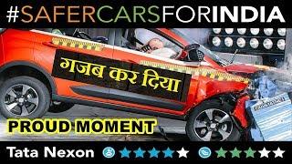 Tata Nexon scored 4 stars in Global NCAP crash test