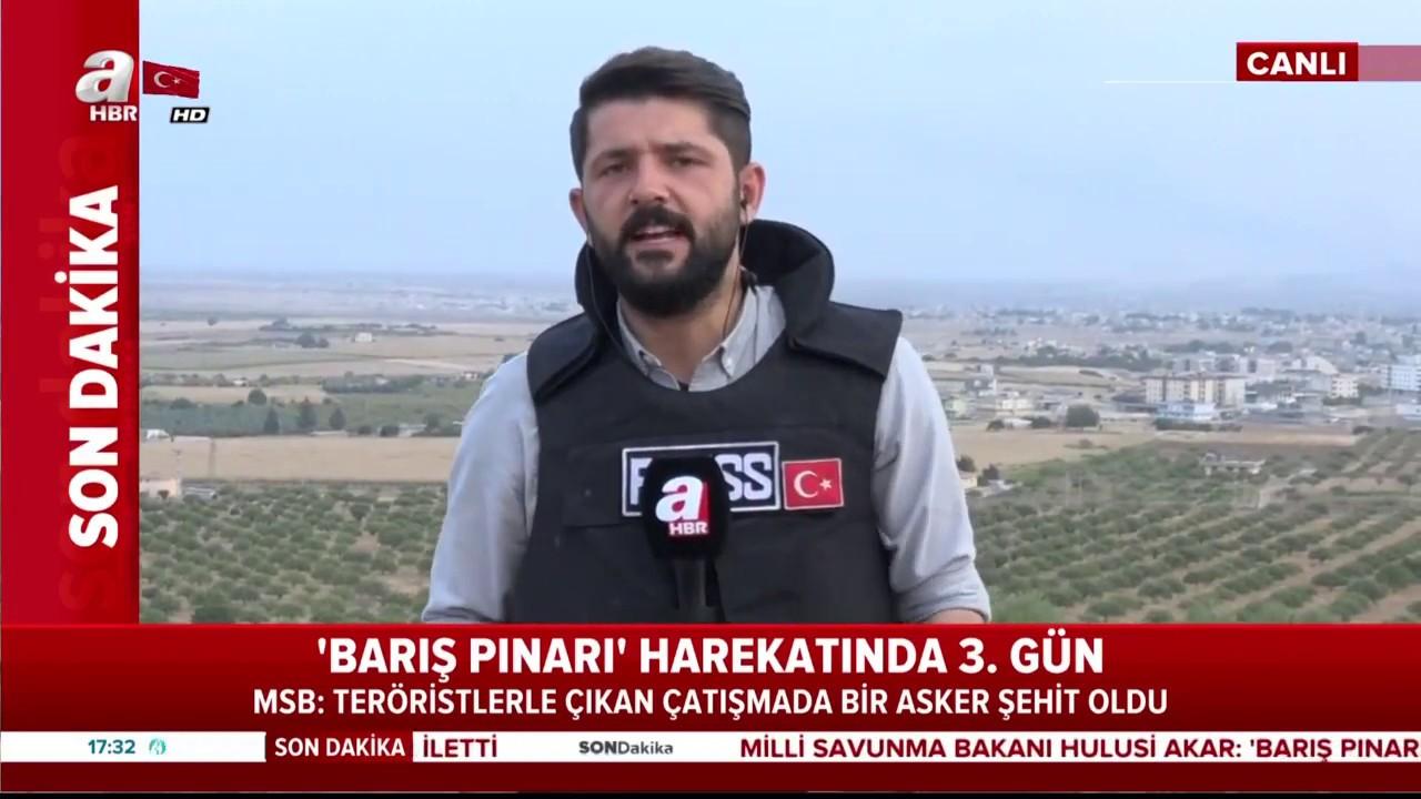 Son Dakika: Barış Pınarı Harekatı'ndan Acı Haber! 1 Asker Şehit Oldu / A Haber