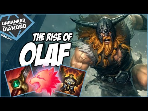THE RISE OF OLAF, HE GOT BUFFED! - Unranked to Diamond - Ep. 62 | League of Legends