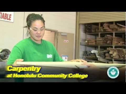 Carpentry at Honolulu Community College