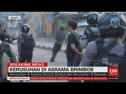 Kerusuhan Sejumlah Titik Di Jakarta: Polisi Bubarkan Massa, Belasan Orang Provokator DItangkap