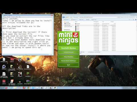How To Install Mini Ninjas Reloaded For PC