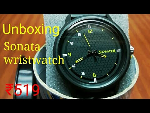 Unboxing Sonata Wristwatch | Wristwatch For Men | Best Budget Wristwatch | Sonata 77085PP03 Volt