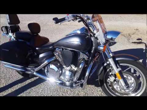 Honda VTX 1300C Motorcycle Saddlebags Review - vikingbags com - YouTube