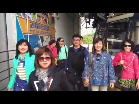 Hong Kong Lantau Island 香港大屿山 (21 Dec 2015) - Unforgettable Cable Car Tour 难忘的缆车之旅