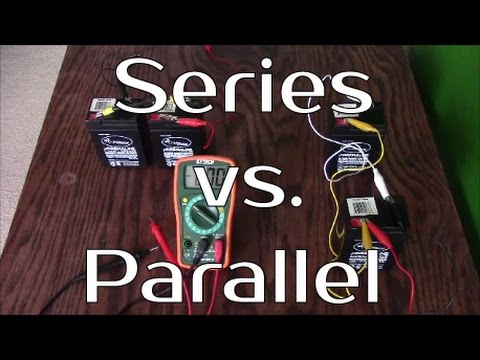 Solar Panel Systems For Beginners Series Vs Parallel Battery Banks Youtube