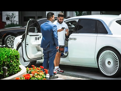 Manny Khoshbin's Wife's Rolls Royce Ghost gets the white RDB Wheels treatment!