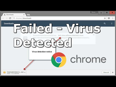 Google Chrome - Failed - Virus detected Error Fix