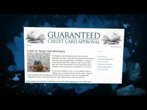 Guaranteed Credit Card Approval