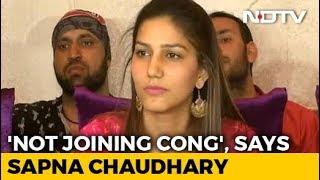dancer-sapna-chaudhary-denies-joining-congress-polls