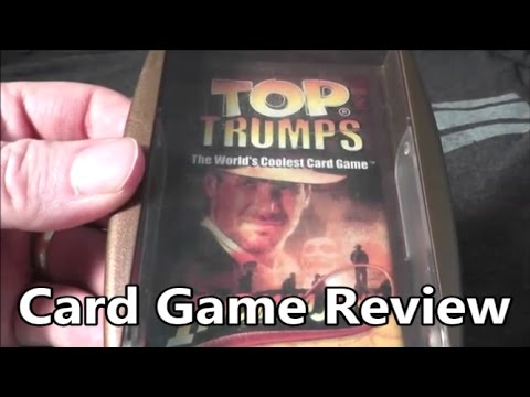 Indiana Jones Top Trumps Card Game   The No Swear Gamer