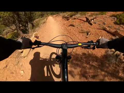 MTB Thunder Mountain Red Canyon Utah 2021-04-24