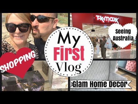 MY FIRST VLOG FOR 2020 |  TK MAXX AND KMART SHOPPING |AUSTRALIAN BEACHES