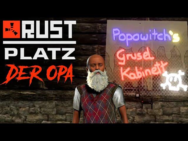 RUSTplatz [S2] #44 👴🏻 Mit Fötzli im Gruselhaus 💥 Roleplay Projekt [Deutsch]