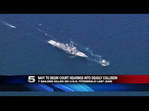 Court Hearings into Deadly USS Fitzgerald Collision Begin