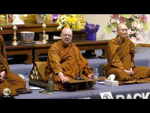 Facing Difficult Situations in Life | Ajahn Brahm | 6 October 2017