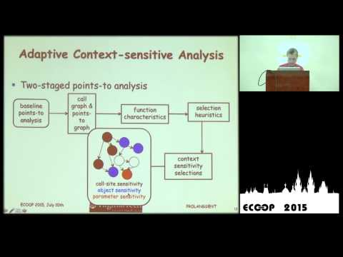Barbara Ryder - Adaptive Context sensitive Analysis for JavaScript