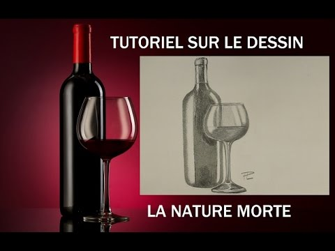 Tutoriel sur le dessin 1 la nature morte youtube - Dessin nature morte ...