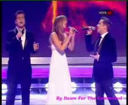 Westlife & Delta Goodrem - Live - All Out Of Love [X Factor