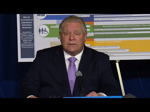Watch Doug Ford's full statement   COVID-19 lockdowns extended in Toronto, other hotspots in Ontario