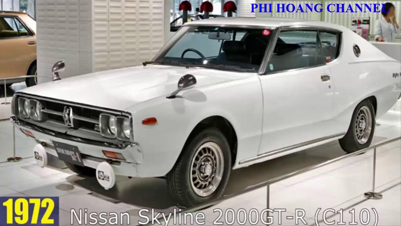 Car History Timeline Nissan Skyline Gt R Evolution 1957 2017