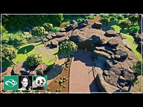 🐼 African Wild Dog & Bridge Overpass Habitat | Speed Build | Planet Zoo | Meilin Zoo | Ep. 22 |