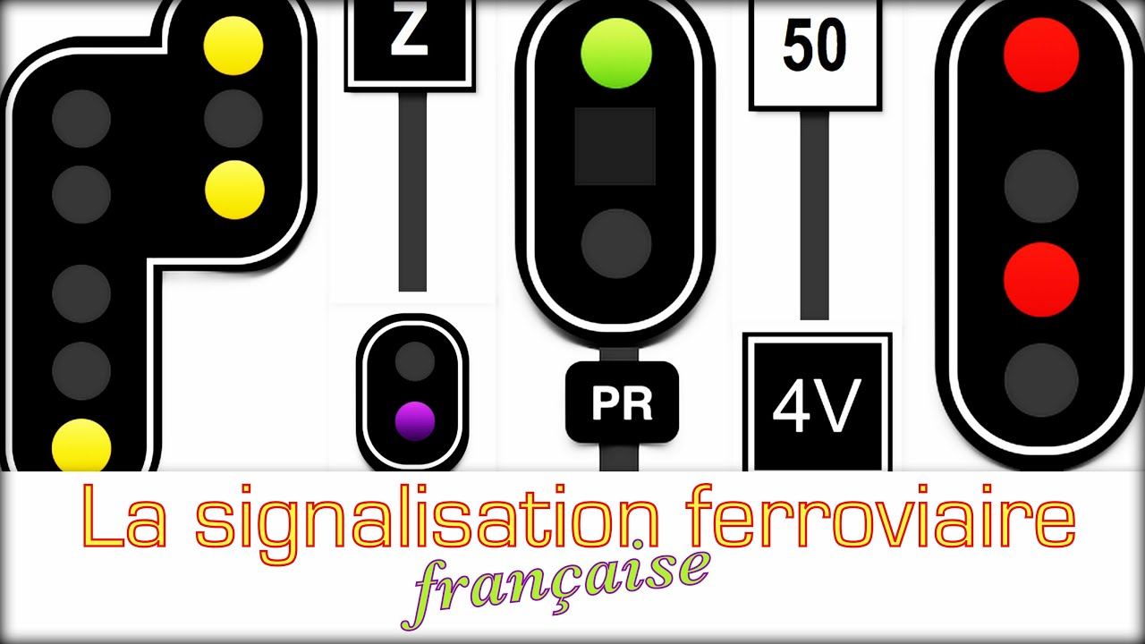Connu Comprendre La signalisation ferroviaire française - YouTube OO58
