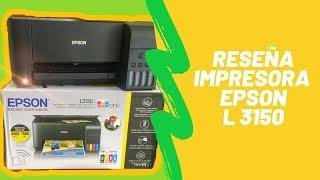 ✅ Impresora Epson L3150 ❤ Unboxing, Reseña, Inicialización y Verificación de Calidad de Impresión