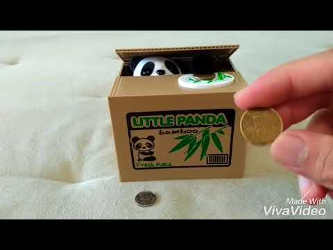 Panda Piggy Bank Coin Saving Box - Special Gift To Your Kid