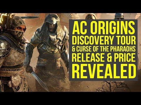 Assassin's Creed Origins DLC Release Date & Price REVEALED - Curse of the Pharaohs (AC Origins DLC)