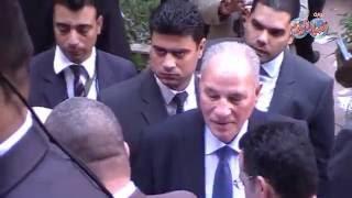المستشار أحمد الزند يصل نادي القضاة دون الادلاء بصوته ليكون على مسافة واحدة من كل المرشحين