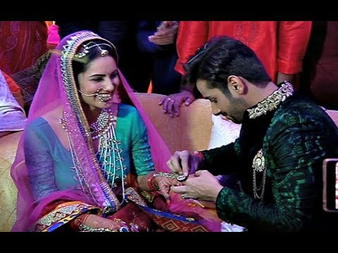 TV Actress Puja Banerjee And Kunal Verma Engagement Ceremony - Full Video