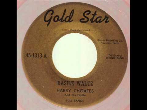 Harry Choates  Basile Waltz  GOLD STAR 1313-A