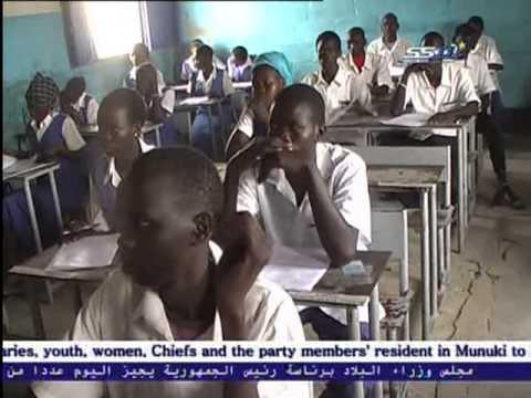 South Sudan برئاسة سلفاكير اجازة عدد من المشاريع الخدمية