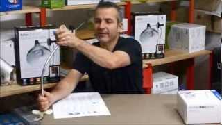 Test et présentation de matériel pour l'Atelier : Daylight Flexiclamp