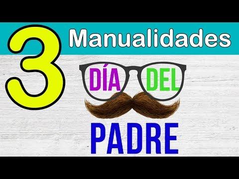 3 MANUALIDADES PARA EL DÍA DEL PADRE en 5 minutos!!