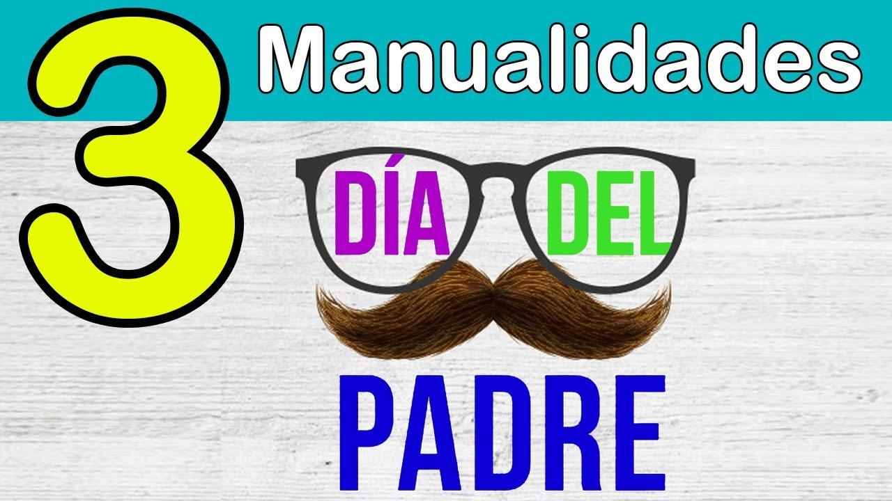 3 MANUALIDADES PARA EL DÍA DEL PADRE en 5 minutos!! by Manualidades On