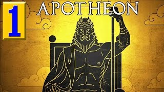 Apotheon - Walkthrough Part 1 Gameplay 1080p 60 FPS